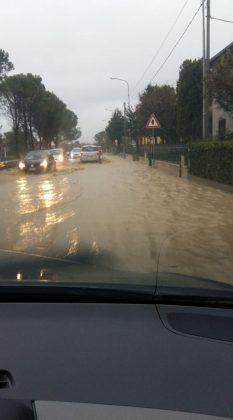ALLERTA MALTEMPO: Allagamenti, frane, strade chiuse. E' emergenza, sindaco attiva il C.O.C.