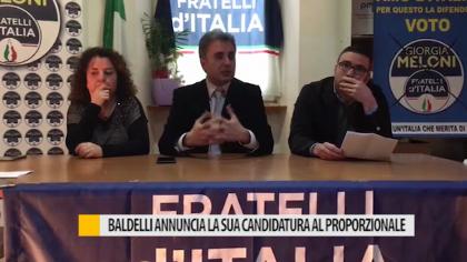 Baldelli annuncia la sua candidatura al proporzionale – VIDEO
