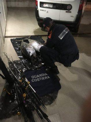 Guardia costiera di Pesaro: duro colpo per pesca illecita di tonno rosso