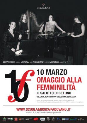"""Concerto al Teatro Nuovo Melograno: """"Omaggio alla femminilità"""""""