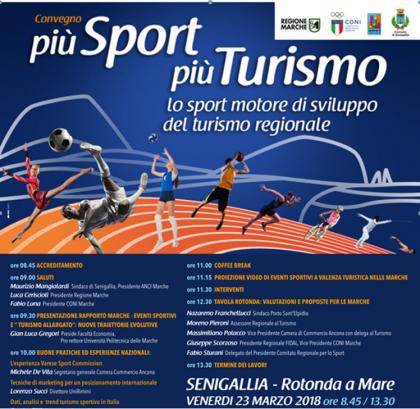 """A Senigallia il convegno """"più Sport, più Turismo"""""""