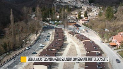 Sisma, Castelsantangelo sul Nera consegna tutte le casette – VIDEO