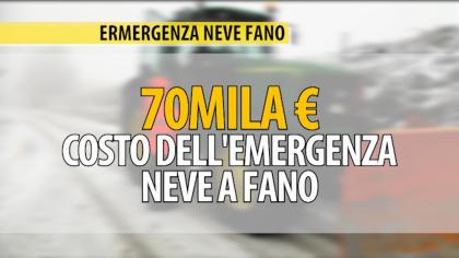 Ecco i numeri dell'emergenza neve di Fano: i costi, le persone e i mezzi – VIDEO
