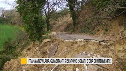 Frana a Novilara, gli abitanti si sentono isolati. E' ora di intervenire – VIDEO