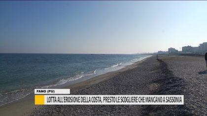Lotta all'erosione della costa, presto le scogliere che mancano a Fano – VIDEO