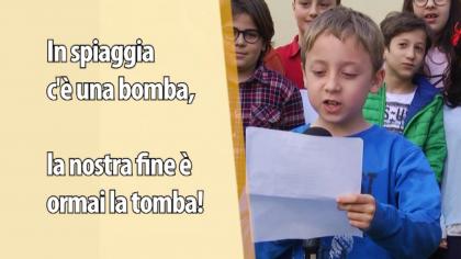 Una filastrocca sul ritrovamento della bomba a Fano – VIDEO