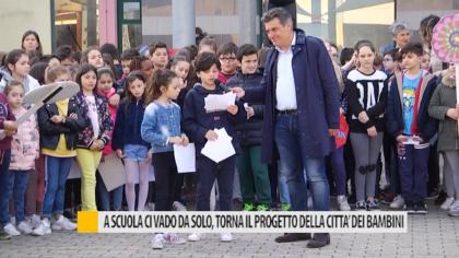 A scuola ci vado da solo, tona il progetto della città dei bambini – VIDEO