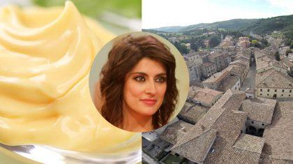 Rai Uno, Elisa Isoardi alla scoperta della maionese al tartufo di Apecchio