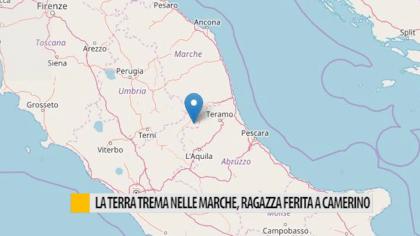 La terra trema nelle Marche, ragazza ferita a Camerino – VIDEO