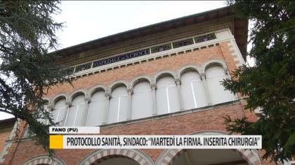 """Protocollo sanità, sindaco: """"martedì la firma. inserita chirurgia"""" – VIDEO"""
