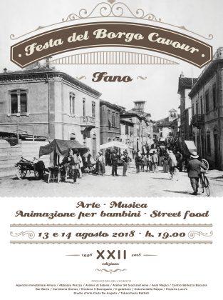"""""""Festa del Borgo Cavour"""", il 13 e 14 agosto nel centro storico di Fano – VIDEO"""