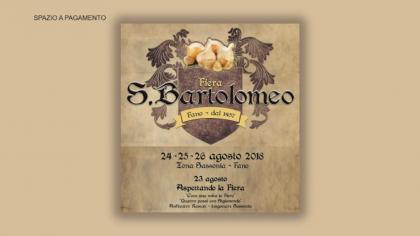 Fiera di San Bartolomeo 2018