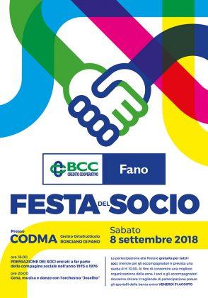 BCC Fano, sabato la Festa del Socio al Codma di Rosciano: ecco il programma – VIDEO