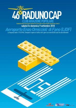 46° Raduno Nazionale Cap: l'8-9 settembre all'Aeroporto di Fano