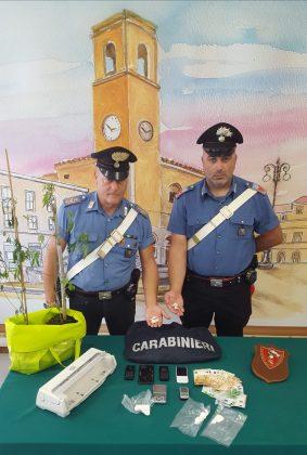 Operazione atidroga dei Carabinieri 4 arresti e sequestrati 150gr di cocaina