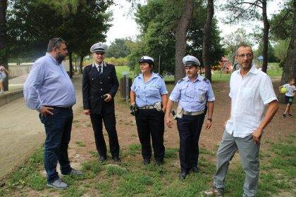 Miralfiore, Ricci: «Vigili per aiutare le forze dell'ordine, ma il parco è sicuro. Vivamolo»