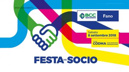 Festa del Socio  BCC Fano (8 settembre 2018)