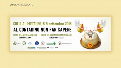 Festa della Pera Angelica e del Formaggio Marchigiano (8 settembre 2018)