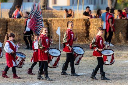 Open day per la Pandolfaccia: al via i corsi per sbandieratori, musici e combattenti, per bambini e adulti