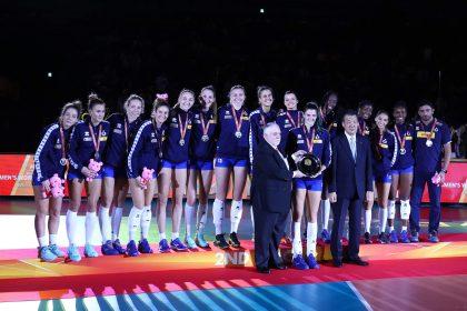 Mondiali Femminili 2018: le azzurre sono medaglia d'Argento, la Serbia vince 3-2