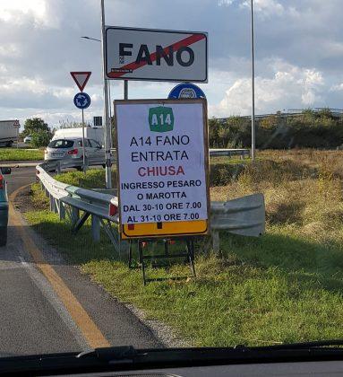 A14: riapriremo il casello di Fano tra mezz'ora. Ma l'assessore va su tutte le furie