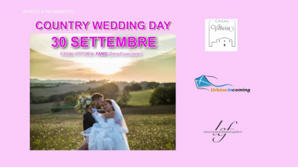 Country Wedding Day (30 settembre 2018)