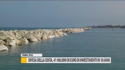 Difesa della costa, 41 milioni di euro di investimenti in 10 anni – VIDEO