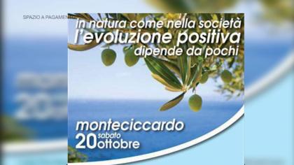 In natura come nella società. L'evoluzione positiva  – Monteciccardo (20 ottobre 2018)