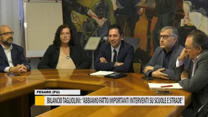 """Bilancio Taglioni: """"importanti interventi su scuole e strade""""  – VIDEO"""