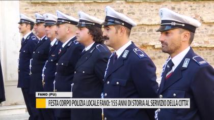 Festa del corpo di Polizia locale di Fano: 155 anni di storia al servizio della città – VIDEO