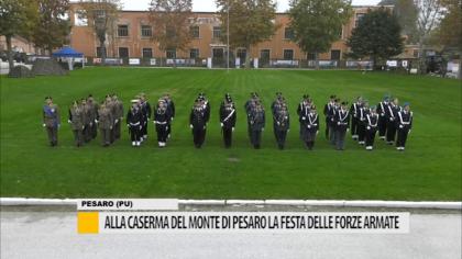 Alla caserma del monte di Pesaro la Festa delle Forze Armate – VIDEO