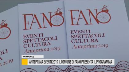 Anteprima eventi 2019, il comune di Fano presenta il programma – VIDEO