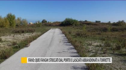 Fano: quei fanghi stoccati dal porto e lasciati abbandonati a Torrette – VIDEO
