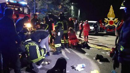 Spray al peperoncino in discoteca, 6 morti e panico a Corinaldo (Ancona)
