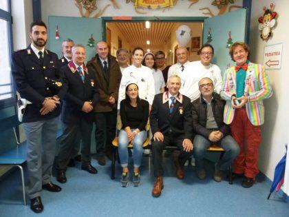 All'ospedale di Urbino la 4^ Festa di Natale con i bambini e le loro famiglie