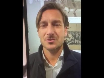 Corinaldo: da Totti un video per Michele, ragazzo di Ostra in rianimazione