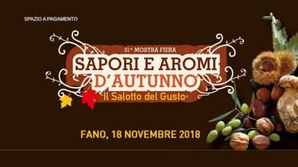 Sapori e Aromi d'Autunno (18 novembre 2018)
