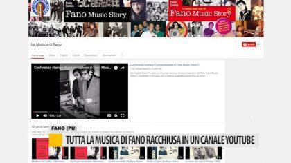 """Presentato il nuovo canale youtube """"La musica di Fano"""" – VIDEO"""