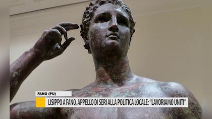 """Lisippo a Fano, appello di Seri alla politica locale: """"Lavoriamo uniti"""" – VIDEO"""