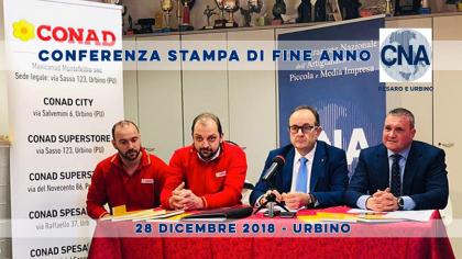 CNA Conferenza Stampa di fine anno (28 dicembre 2018)