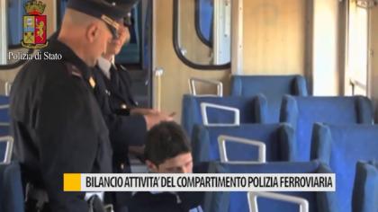 Bilancio attività del compartimento polizia ferroviaria M.U.A – VIDEO