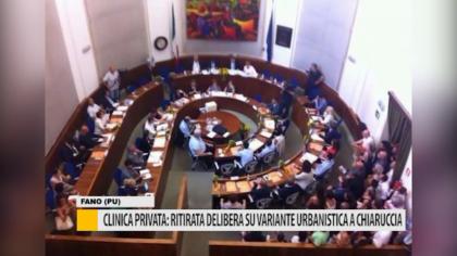 Clinica privata: ritirata delibera su variante urbanistica a Chiaruccia – VIDEO
