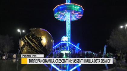"""Torre panoramica, Crescetini: """"Assenti i nulla osta sismici"""" – VIDEO"""