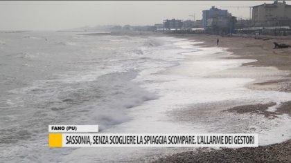 Sassonia, senza scogliere la spiaggia scompare. L'allarme dei gestori – VIDEO
