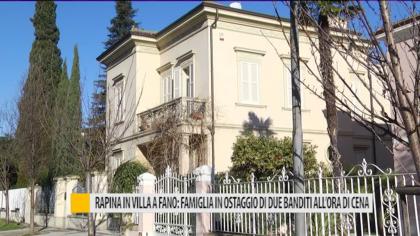 Rapina in villa a Fano: famiglia in ostaggio di due banditi all'ora di cena – VIDEO