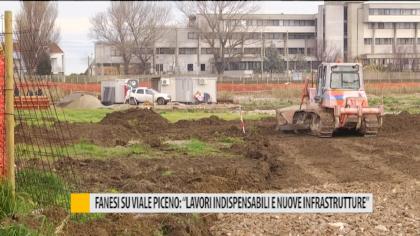 """Fanesi su viale Piceno: """"Lavori indispensabili e nuove infrastrutture"""" – VIDEO"""