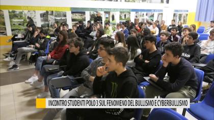 Incontro studenti polo 3 sul fenomeno del bullismo e Cyberbullismo – VIDEO
