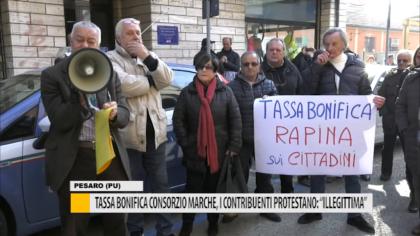 """Tassa bonifica consorzio Marche, i contribuenti protestano: """"illegittimità"""" – VIDEO"""