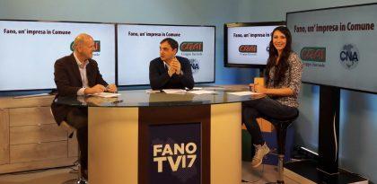 Fano, economia e imprese: domani confronto su Fano TV con Teodosio Auspici
