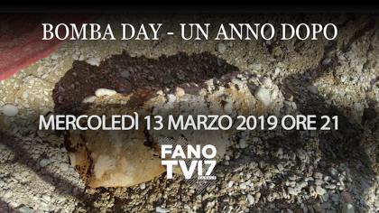 BOMBA DAY – UN ANNO DOPO: questa sera approfondimento speciale su Fano TV